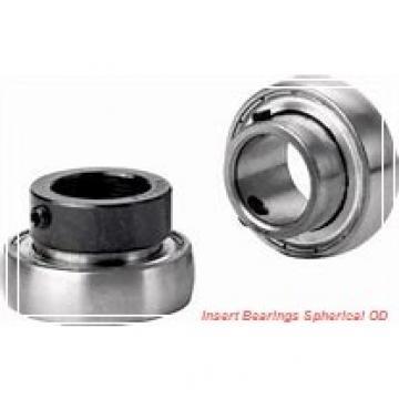 30 mm x 62 mm x 23.8 mm  SKF YET 206  Insert Bearings Spherical OD