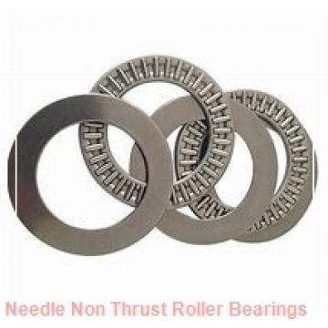 0.813 Inch | 20.65 Millimeter x 1.063 Inch | 27 Millimeter x 0.5 Inch | 12.7 Millimeter  IKO YB138  Needle Non Thrust Roller Bearings
