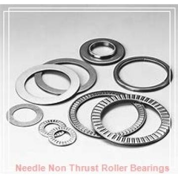 0.394 Inch   10 Millimeter x 0.669 Inch   17 Millimeter x 0.394 Inch   10 Millimeter  IKO RNAF101710  Needle Non Thrust Roller Bearings